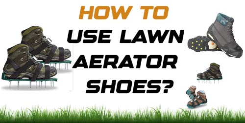 How to Use Lawn Aerator Shoes