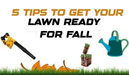 5 Tips to Get Your Lawn Ready for Fall