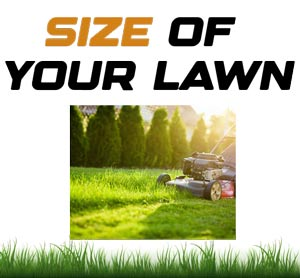 Size of your Lawn