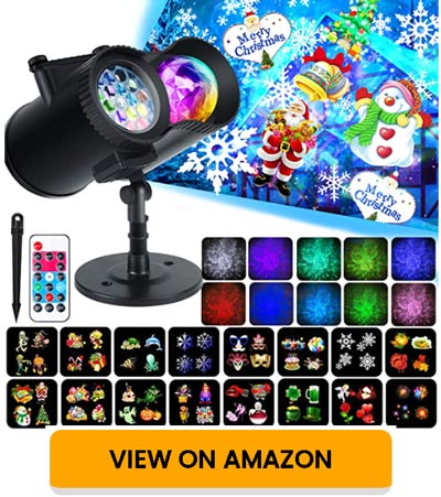 WOSTOO Christmas LED Projector