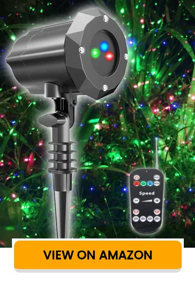 Poeland Christmas Light Projector